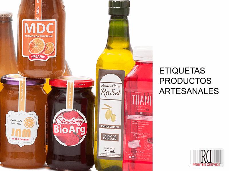 Etiquetas personalizadas para tu producto