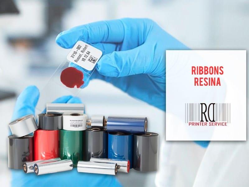 Como y donde aplicar los ribbons de resina