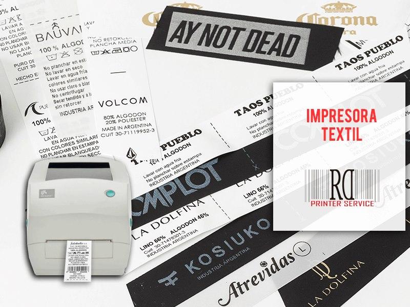 ¿Que tenemos que saber a la hora de incorporar una impresora textil para etiquetas?