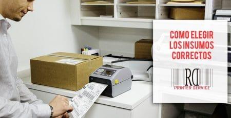 Que saber antes de comprar mis insumos para impresora de etiquetas