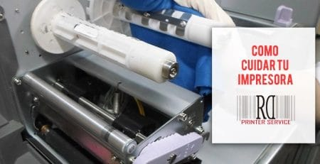 cuidar impresora etiquetas zebra rd printer