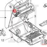 Zebra G105910-067 GC420t rd printer-1 1