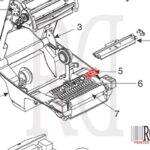 Zebra G105916-015 GC420t rd printer-1