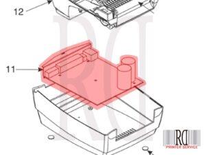 Zebra P1031815-019 Main Control PCBA Ser USB Paralelo Cutter