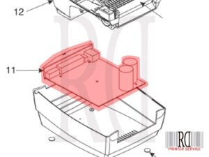 Zebra P1031815-020 GC420t rd printer-1