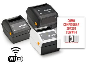 Como conectar impresora Zebra ZD420t por wifi