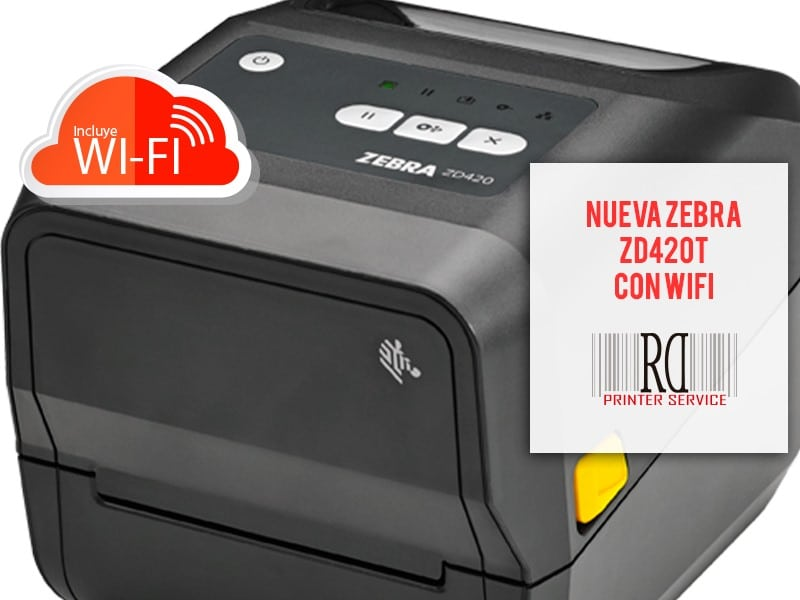 Nueva impresora de etiquetascon WIFI
