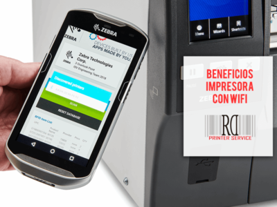 Impresora con wifi y bluetooth RD Printer