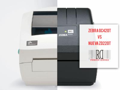 ¿El fin de la impresora Zebra GC420t?