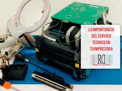 La importancia del servicio técnico en una impresora de etiquetas