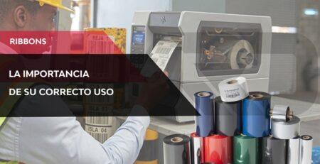 Como influyen los ribbons a la hora de imprimir etiquetas