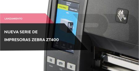 Nueva impresora Zebra industrial ZT411 y ZT421