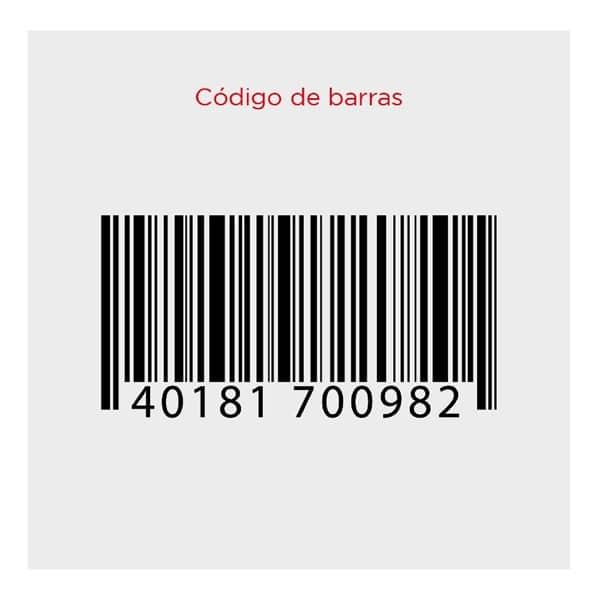 Qué códigos de barras existen rd printer service