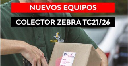 Nuevo colector de datos Zebra TC21 TC26